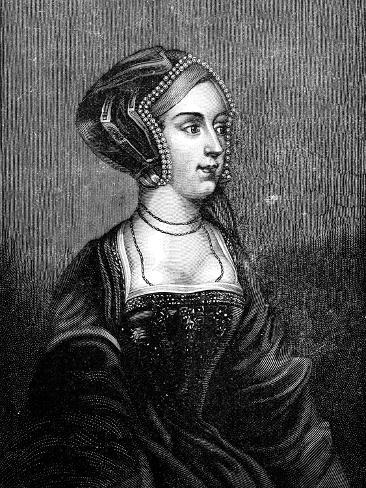 Anne Boleyn, Second Wife of Henry VIII of England, 19th Century Giclee Print