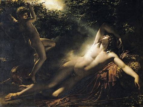 The Sleep of Endymion, 1791 Giclee Print