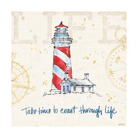 Coastal Life VI Art Print
