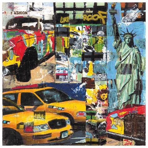 New York Fashion Art Print