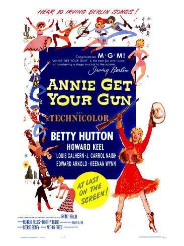 Annie Get Your Gun, 1950 Art Print