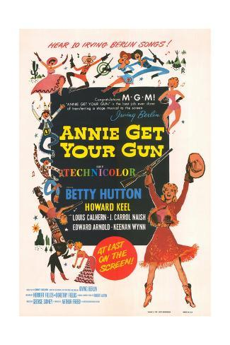 Annie Get Your Gun - Movie Poster Reproduction Art Print