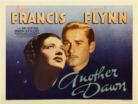 Another Dawn, Kay Francis, Errol Flynn, 1937 Art Print
