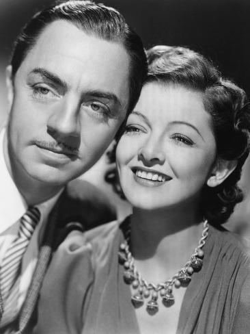Another Thin Man, William Powell, Myrna Loy, 1939 Photo
