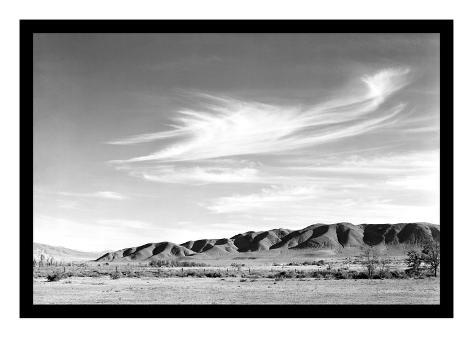 Landscape at Manzanar Impressão artística