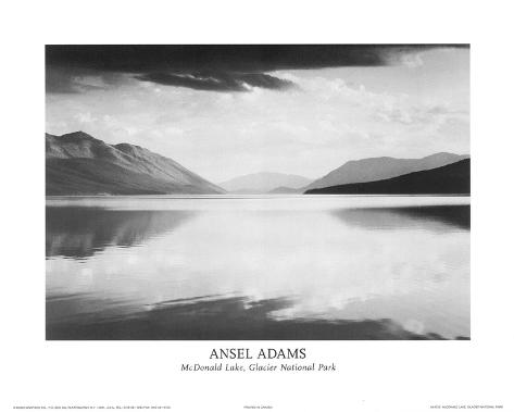 McDonald Lake, Glacier National Park Mini Poster