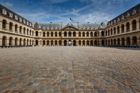 Les Invalides War History Museum in Paris, France Photographic Print