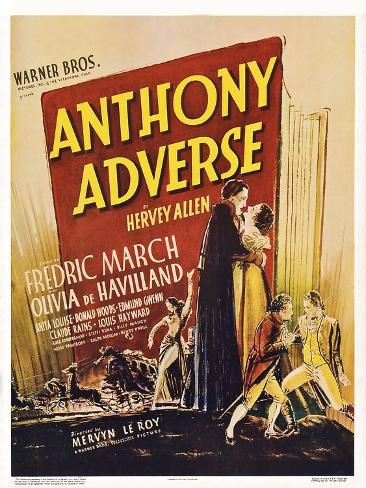 Anthony Adverse Art Print