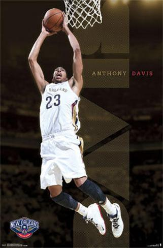 Anthony Davis New Orleans Pelicans Poster