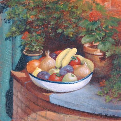 Fruit and Veg Al Fresco, 2003 Giclée-vedos