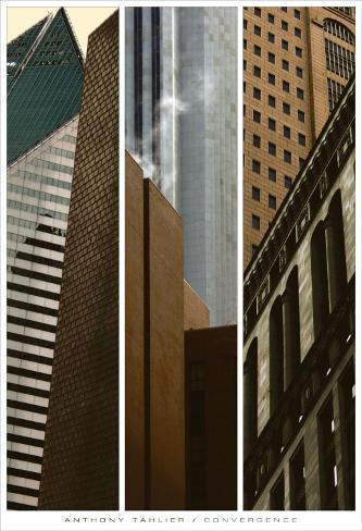 Convergence I, II, III Art Print