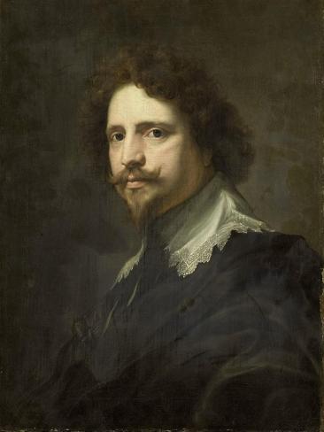 Portrait of Michel Le Blon Art Print