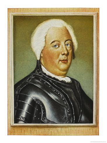 Friedrich Wilhelm I King of Prussia Giclee Print