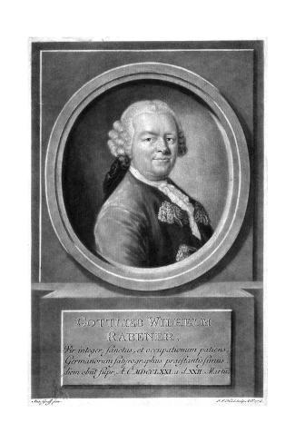 Gottlieb Rabener Stampa giclée