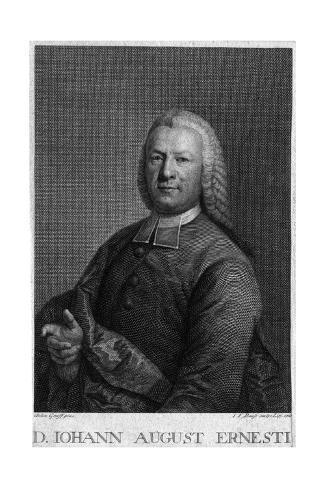 Johann August Ernesti Stampa giclée