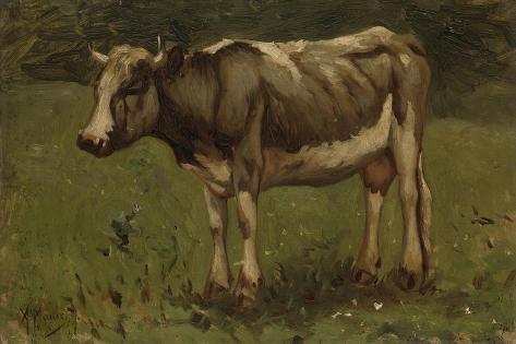 Koe, Anton Mauve Art Print
