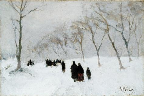 Snow Storm Giclee Print