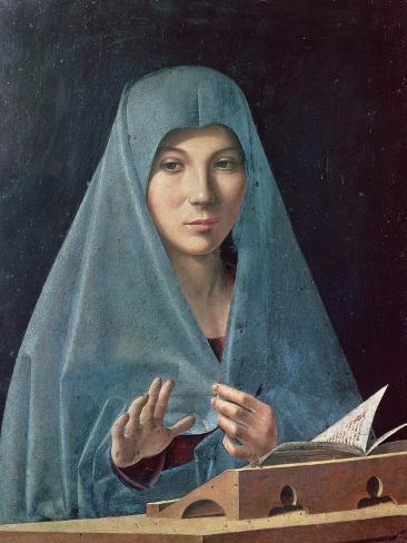 The Annunciation, 1474-75 Giclee Print