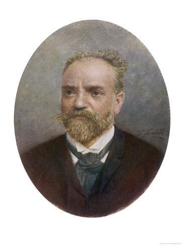 Antonin Leopold Dvorak Bohemian Musician Giclee Print