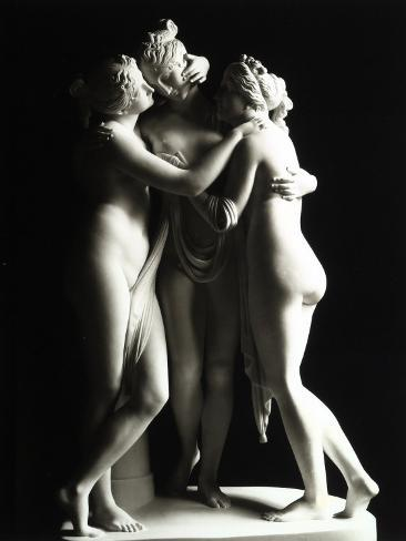 The Three Graces, Gallery of the Hermitage, Saint Petersburg Fotoprint