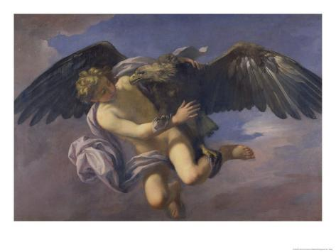 The Abduction of Ganymede by Jupiter Disguised as an Eagle Giclee Print