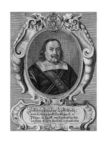 Johann Loffelholtz Stampa giclée