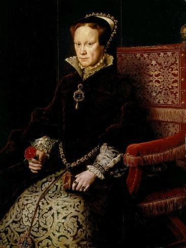 Queen Mary I Tudor of England or Bloody Mary, 1516-58 Giclee Print