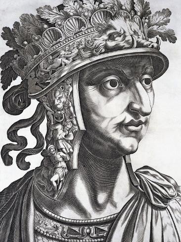 Titus Caesar Augustus XII, Emperor of Rome Photographic Print