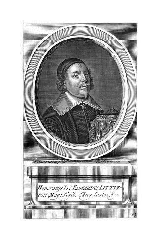 Edward Baron Lyttelton Stampa giclée