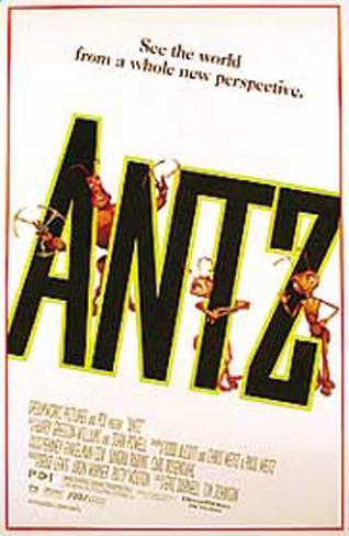 Antz (Hormigaz) Póster original