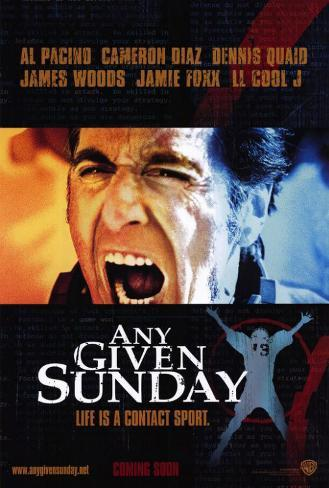 Any Given Sunday Masterprint