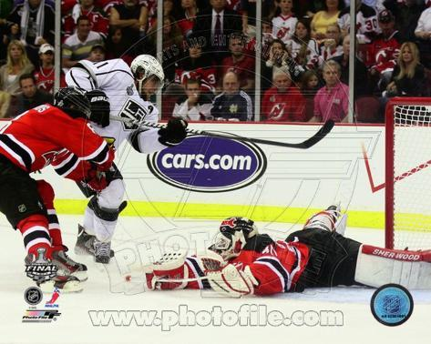 Anze Kopitar Game Winning Overtime Goal Game 1 of the 2012 NHL Stanley Cup Finals Photo