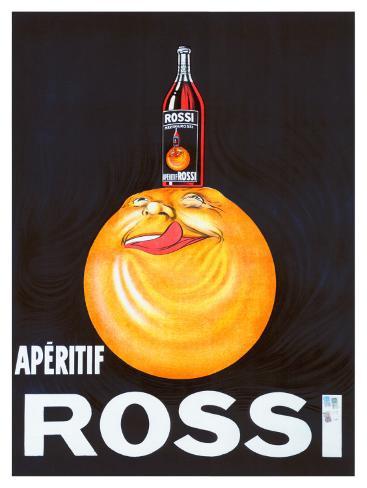 Aperitif Rossi Giclee Print