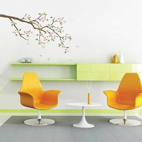 Apple Cherry Blossoms Branch Wall Decal