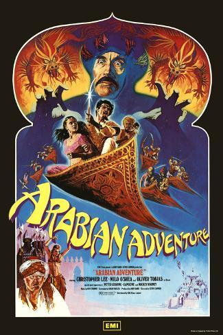Arabian Adventure Art Print