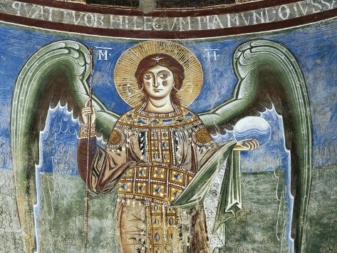 Archangel St Michael, 1072-1078 Giclee Print