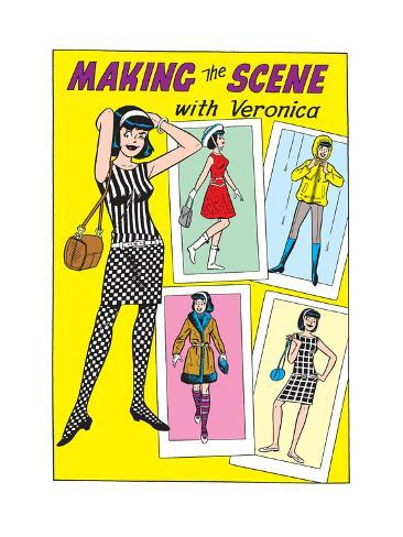 Archie Comics Fashions: Making The Scene With Veronica Poster