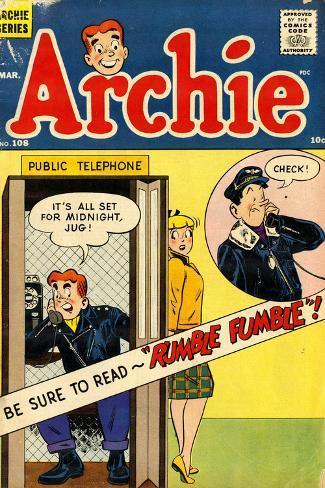 Archie Comics Retro: Archie Comic Book Cover No.108 (Aged) Poster