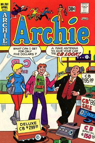 Archie Comics Retro: Archie Comic Book Cover No.261 (Aged) Poster