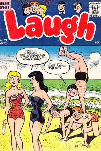 Archie Comics Retro: Laugh Comic Book Cover No.77 (Aged) Poster