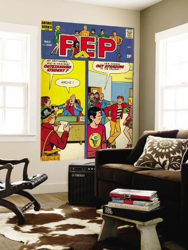Archie Comics Retro: Pep Comic Book Cover No.265 (Aged) Wall Mural