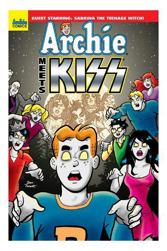 Archie Meets KISS Cover Premium Giclee Print