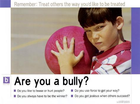 Are you a bully? Art Print