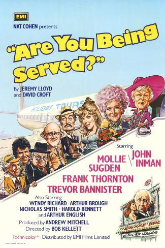 Are You Being Served Art Print