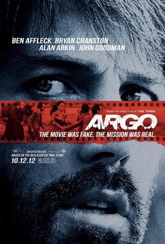 Argo Movie Poster Double-sided poster