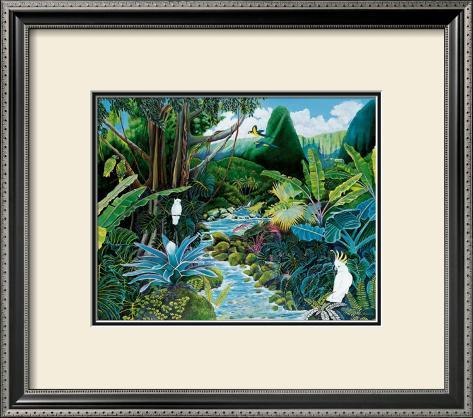 Iao Valley Framed Art Print