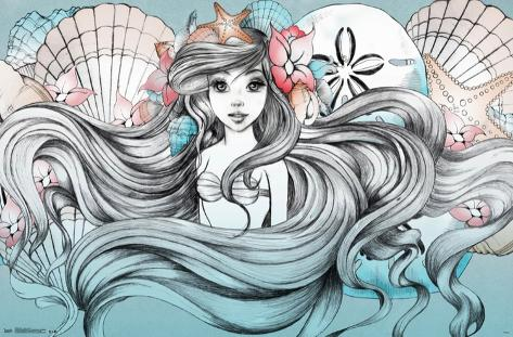 Ariel - Land Or Sea Pôster
