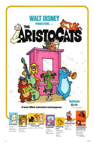 Aristocats Masterprint