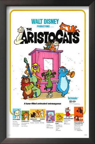 Aristocats Framed Art Print