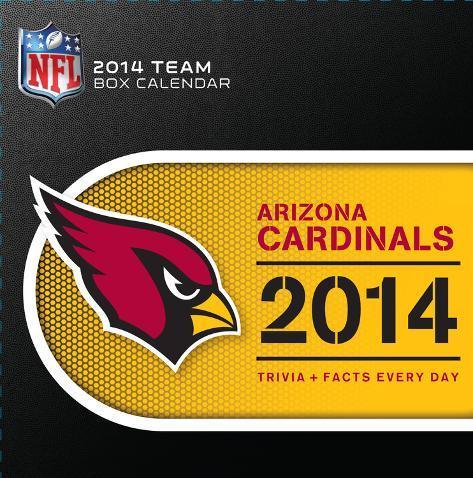 Arizona Cardinals - 2014 Box Calendar Calendars